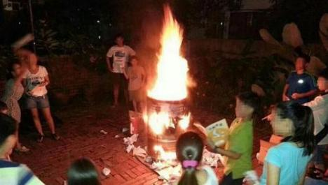 We did start the fire